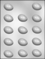 "1-1/2"" Plain Egg Mold (14)"