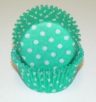"1-1/4""X 2"" Green w/ Dots 500 Count"
