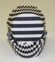 "1-1/4""X2"" Stripe Black 500 CT"