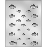 "1-1/8"" & 1-5/8"" Fish Mold (8)"