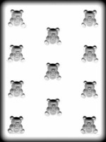 "1-1/8"" Baby Bears Hard Candy Mold (11)"