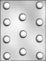 "1-1/8"" Fluted Choc Mold (11)"