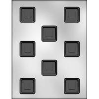 """1-1/8"""" Uneven Squares Mold (8)"""