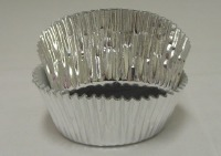 "1-1/8"" X 2"" Silver Baking Cup 500 Count"
