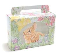 1/2 LB Bunny Flowers W/Window