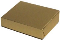 "1/2 Pound Gold Foil Box 1-1/2"" Tall"