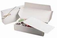 1/2 LB White Candy Boxes 3pk.