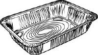 1/2 Medium Steam Tray Pan