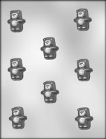 "1-2"" Puffy Bear Choc Mold (8)"