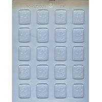 "1.25"" Initial Mint Mold B (20)"