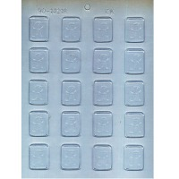 """1.25"""" Initial Mint Mold R (20)"""