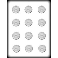 "1.25"" Smiley Mint Mold Handy Candy (12)"