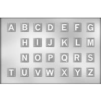 """1.25"""" Square Alphabet Mint (26)"""