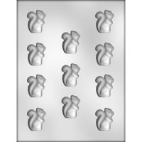 "1.25"" Squirrel Candy Mold (12)"