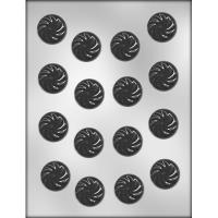 "1.25"" Swirled Mint Mold (17)"