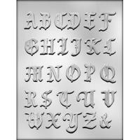 "1 3/8"" Alphabet Mold (27)"