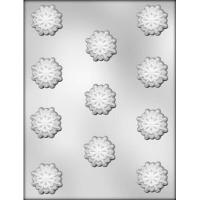 """1-3/8"""" Snowflake Mold  (11)"""