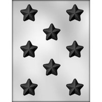 "1-3/8"" Stacked Star Mold (8)"