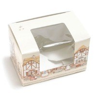 1/4 LB Egg Box Window-Cottontail