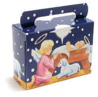Xmas Nativity Candy Box 1/4 #
