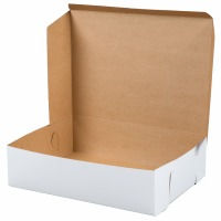 1/4 Quarter Sheet 14X10X4 Cake Box