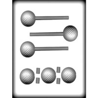 "1-5/8"" 3-D Baseball Sucker(6)"