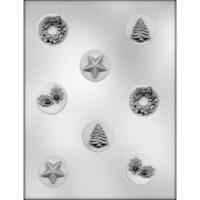 "1-5/8"" Christmas Mint #1 (8)"