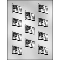 "1-5/8"" Flag Choc Mold (11)"