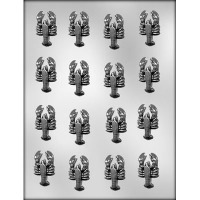 "1-5/8"" Lobsters Choc Mold (16)"