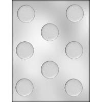 """1-5/8"""" Plain Circle Mint (8)"""