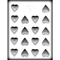 "1 5/8"" Plain Heart Mold (18)"