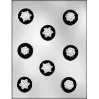 "1-5/8"" Snowflake Mint Mold (8)"
