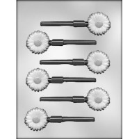 "1.5"" Daisy Lolly Mold (6)"