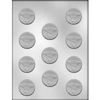 """1.5"""" Nursing Mint Mold (11)"""