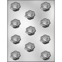 "1.5"" Open Rose Choc Mold (11)"