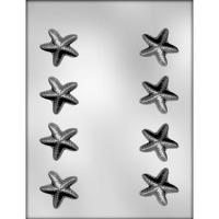 """1.5"""" Starfish Choc Mold (8)"""