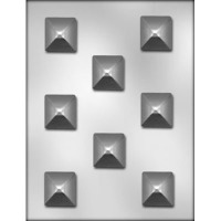 "1.50"" Pyramid Choc Mold (8)"
