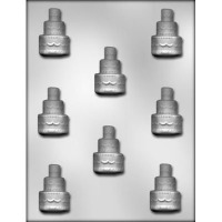 "1.75"" 3-Tiered Cake Mold (8)"