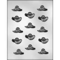 """1.75"""" Assorted Hats Mold (14)"""