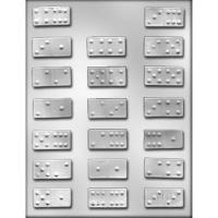 "1.75"" Dominoes Choc Mold (20)"