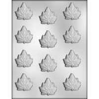 "1.75"" Maple Leaves Mold (12)"
