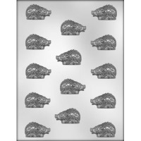 "1.75"" Razorback Chocolate Mold (14)"