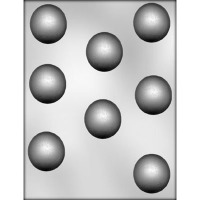 "1.75"" X .75"" Truffle Mold (8)"