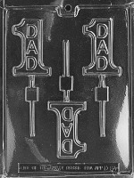 #1 Dad Lolly Mold