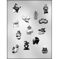 "1"" Halloween Designs Mold (13)"