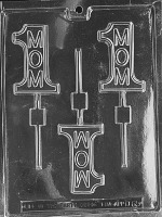 #1 Mom Lolly Mold