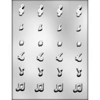 "1"" Music Notes & Symbols (24)"