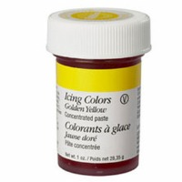 1 Oz Icing Color Golden Yellow