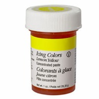 1 Oz Icing Color Lemon Yellow