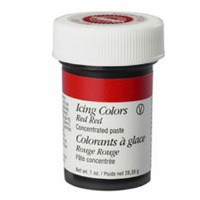 1 Oz Icing Color Red Red